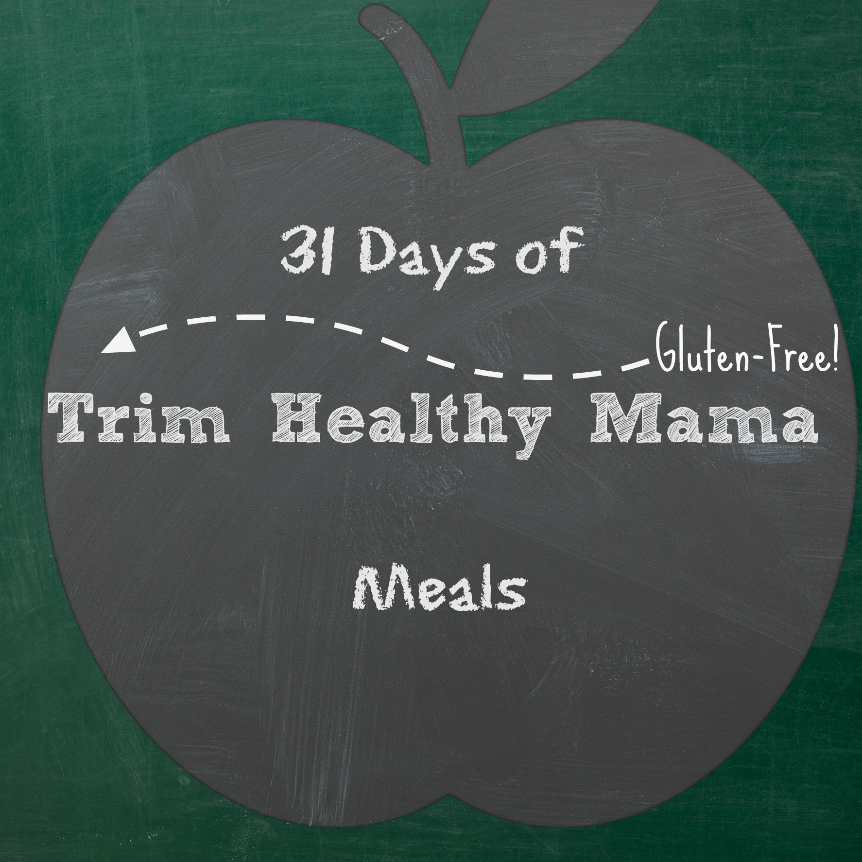 It is a graphic of Refreshing Trim Healthy Mama Meal Plan