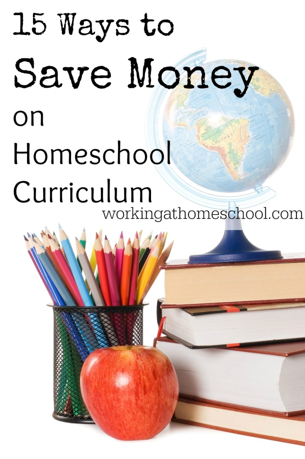 15 Ways to Save Money on Homeschooling